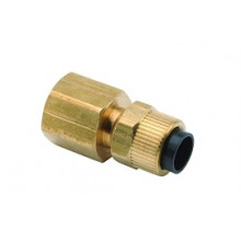 "1/4"" Poly Straight Connector  x 1/4"" FPT DCI 0056"