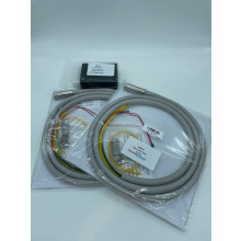 Fibre optic build in kit with TWO DELUXE Hoses