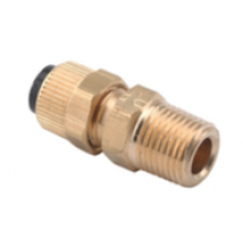 Poly X MPT Male Fitting 1/4 x 1/8 MPT   DCI 0053