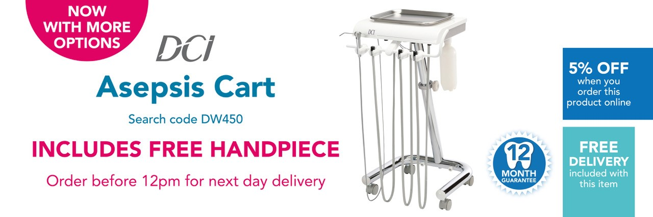 Asepsis Cart by DCI